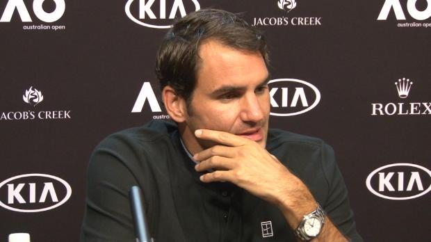 "AO: Federer: ""Hoffe, das Stadion hilft mir"""