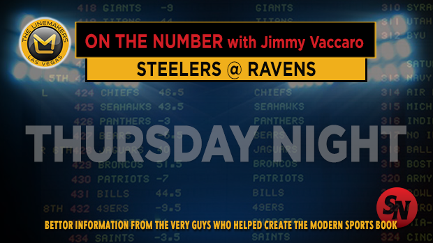 Jimmy V on Steelers @ Ravens