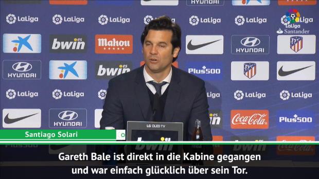 """Solari nimmt Bale in Schutz: """"Er war glücklich"""""""