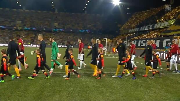 UEFA Champions League: Young Boys - Man United   DAZN Highlights