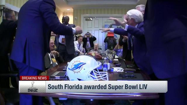 South Florida will host Super Bowl LIV