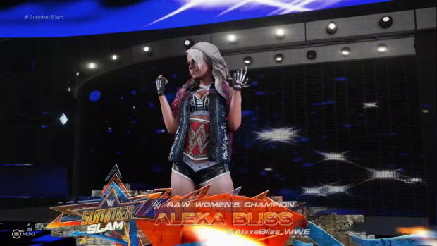 WWE 2K19 Alexa Bliss entrance video
