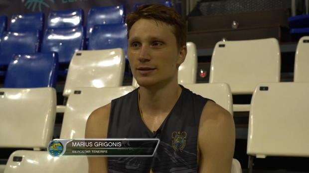 """Grigonis (Iberostar): """"Vamos a darlo todo por ganar"""""""