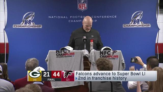 Dan Quinn: 'I'm excited...but more importantly excited for the players'