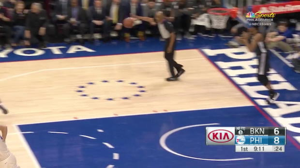 WSC: Ben Simmons 21 points vs the Nets