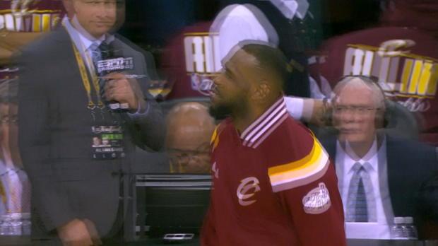 Warriors vs. Cavaliers Game 3