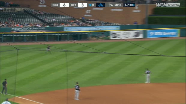 LaMarre's sliding catch in left