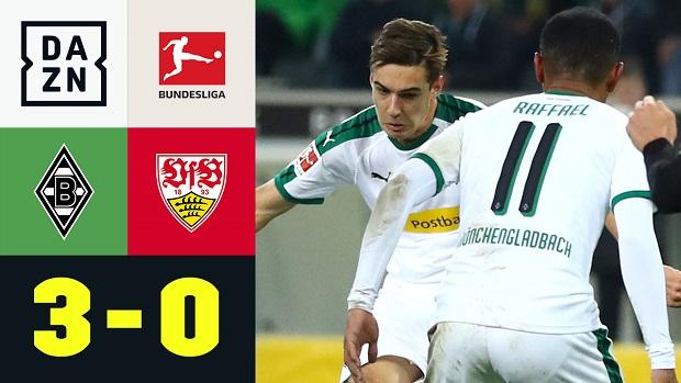Bundesliga: Borussia M'gladbach - VfB Stuttgart | DAZN Highlights