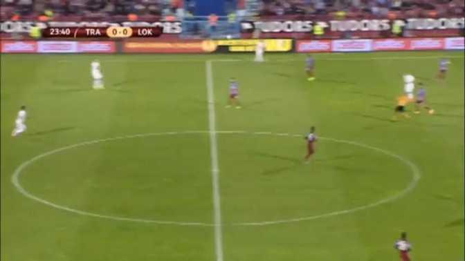 L.Europa : Trabzonspor 2-0 Lokeren