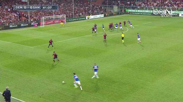 Serie A : Genoa 0-1 Sampdoria Gênes