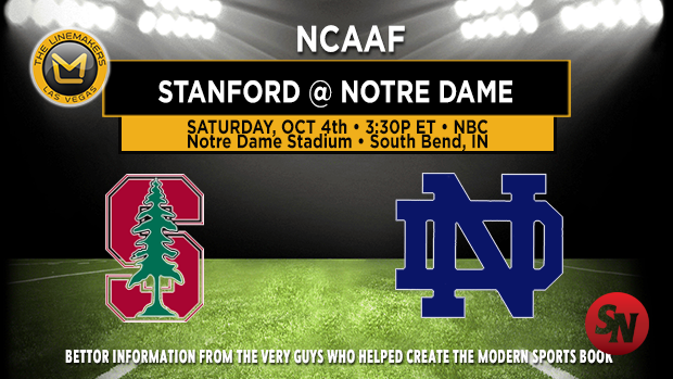 Stanford Cardinal @ Notre Dame Fighting Irish