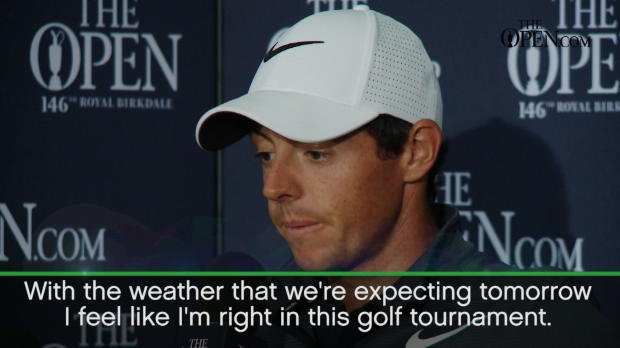 McIlroy feeling positive after Open revival
