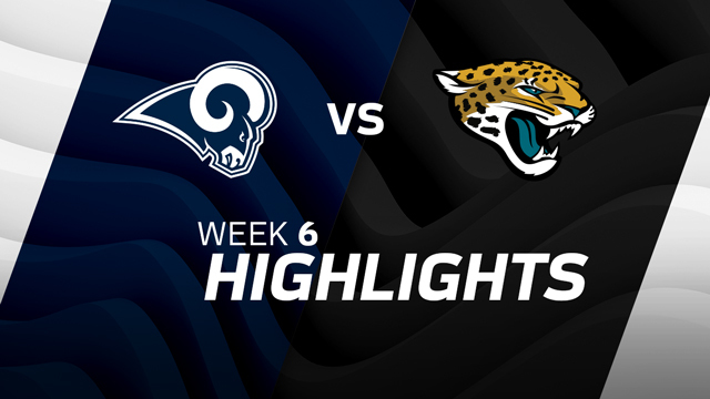 Los Angeles Rams vs. Jacksonville Jaguars highlights | Week 6