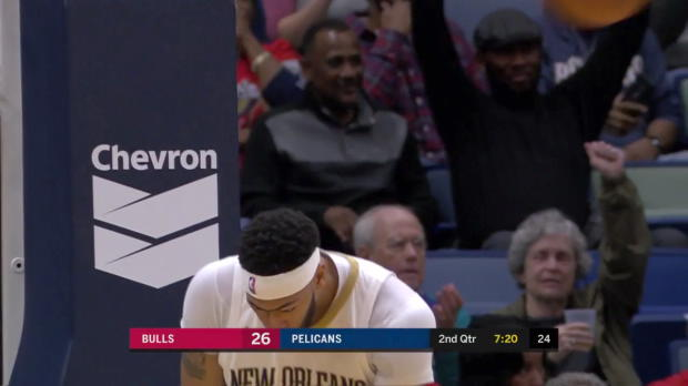 WSC: Anthony Davis (34 points) Highlights vs. Chicago Bulls