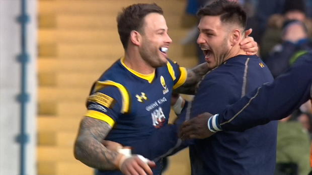 Aviva Premiership - Francois Hougaard's Man of the Match display against Bristol
