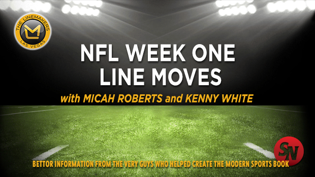 NFL Week One Line Moves