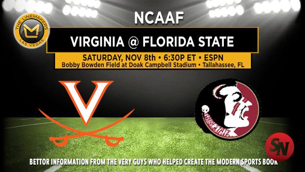 Virginia Cavaliers @ Florida State Seminoles