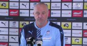 Sydney FC coach Graham Arnold says his side are only concerned with getting three points against Central Coast on Friday night