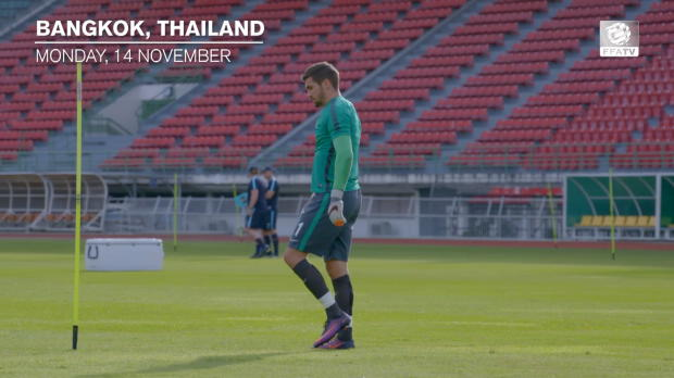 FFA TV | Ryan relishing Socceroos return