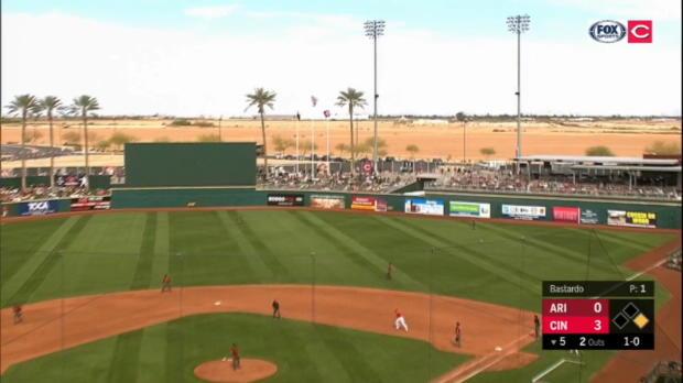 Schebler's mammoth home run