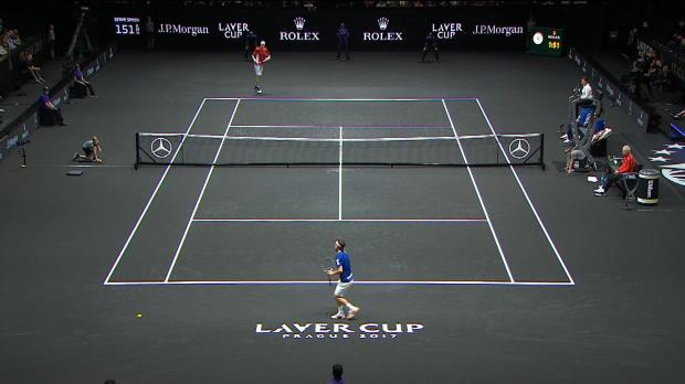 Laver Cup: Thiem gewinnt Krimi gegen Isner