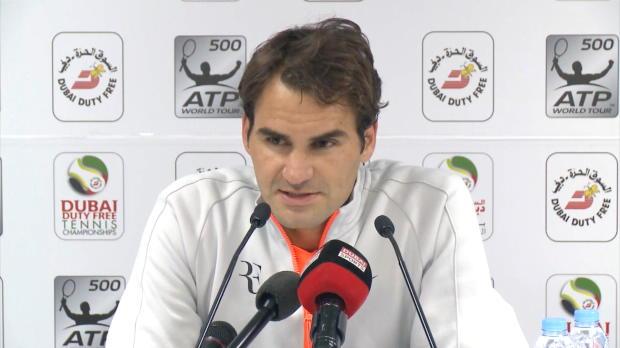Dubai: Federer: Keinen Durchhänger leisten