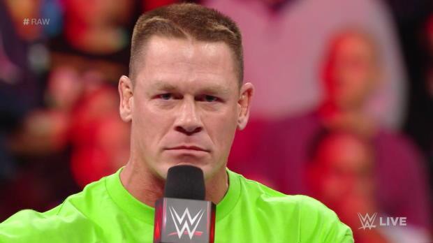 John Cena calls The Undertaker a coward: Raw, March 19, 2018