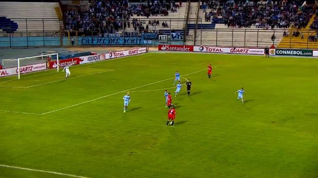 Foot : Video -  C. Sudamericana : Le raté de Bejarano