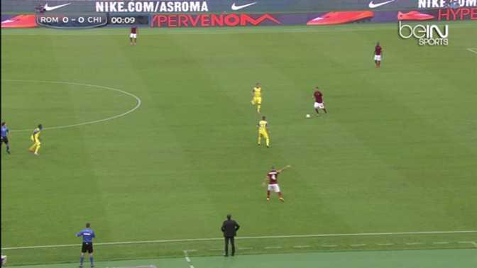 Serie A : Roma 3-0 Chievo
