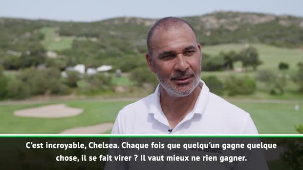 Chelsea - Gullit - ' Avec Chelsea, il vaut mieux ne rien gagner'