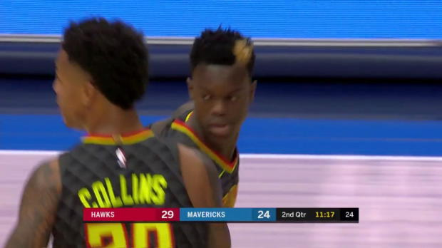 WSC: Highlights: Dennis Schroder (28 points) vs. the Mavericks, 10/18/2017