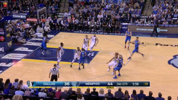 WSC: Deron Williams with 11 Assists against the Grizzlies