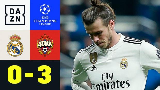UEFA Champions League: Real Madrid - ZSKA Moskau | DAZN Highlights