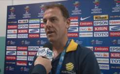 Delighted and relieved Matildas Interim Head Coach Alen Stajcic after his side overcame Vietnam to qualify for the World Cup.