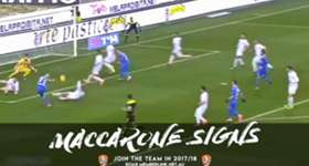 The Big Mac! Highlights of our new marquee striker Massimo Maccarone! Enjoy!