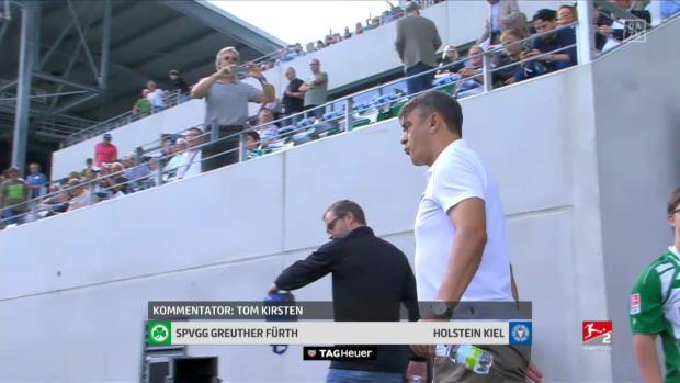 2. Bundesliga: SpVgg Greuther Fürth - Holstein Kiel | DAZN Highlights