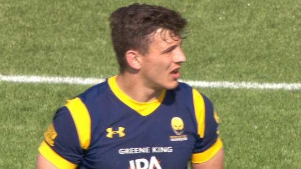 Aviva Premiership - Ryan Mills 60 Metre kick v Bath Rugby