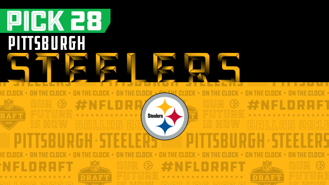 Steelers pick No. 28 | NFL Mock Draft Live