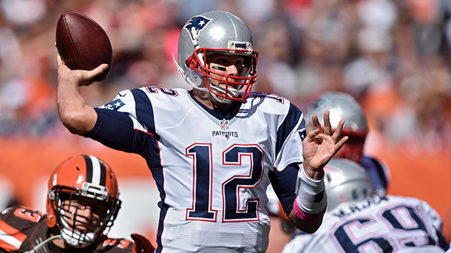 Video: Every Tom Brady throw from Week 5
