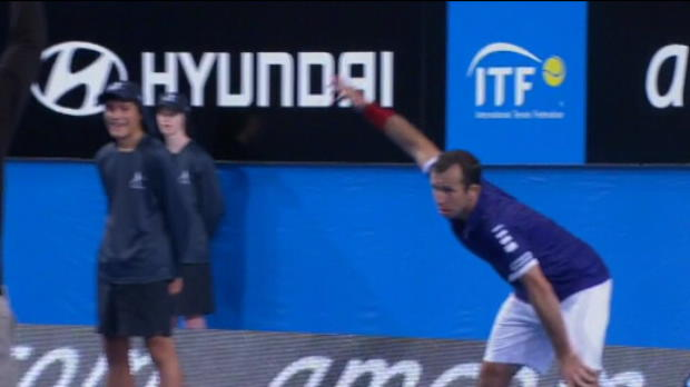Tennis / News - Hopman Cup - Le show Stepanek