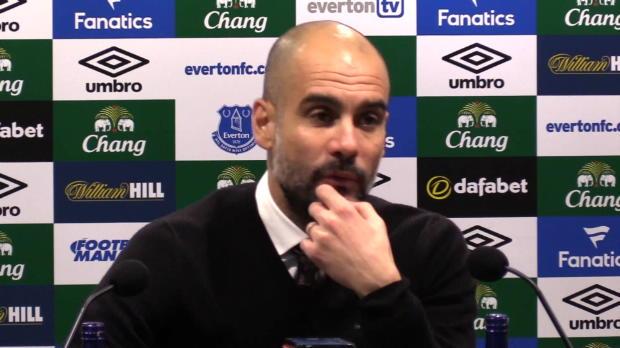 "Guardiola: ""Zehn Punkte Rückstand sind viel"""