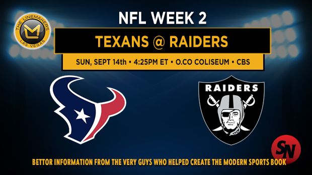 Houston Texans @ Oakland Raiders