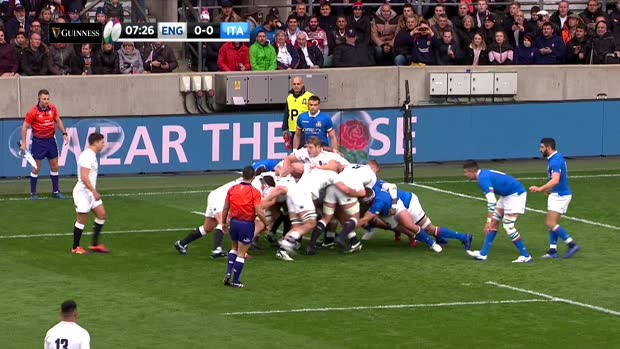 Aviva Premiership : Aviva Premiership - Short Highlights World Wide, England v Italy, 9th March 2019, Guinness Six Nations