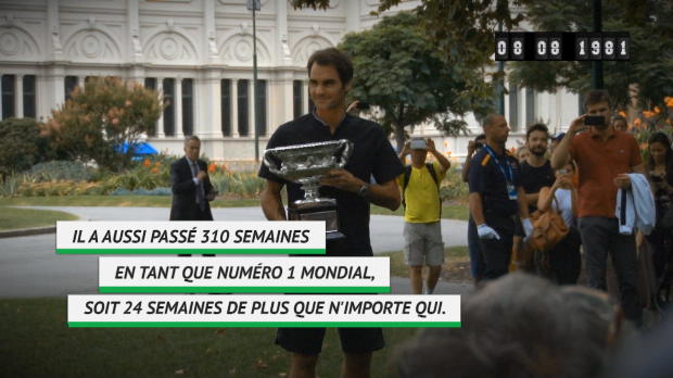 : Roger Federer fête ses 37 ans