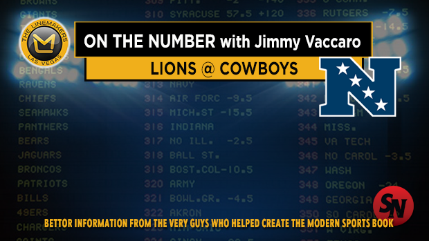 Jimmy V on Lions @ Cowboys