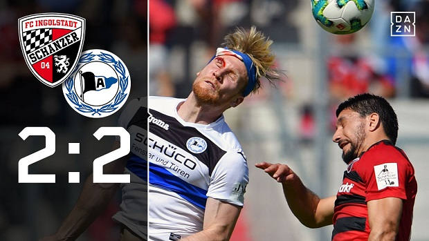 FC Ingolstadt 04 - Arminia Bielefeld