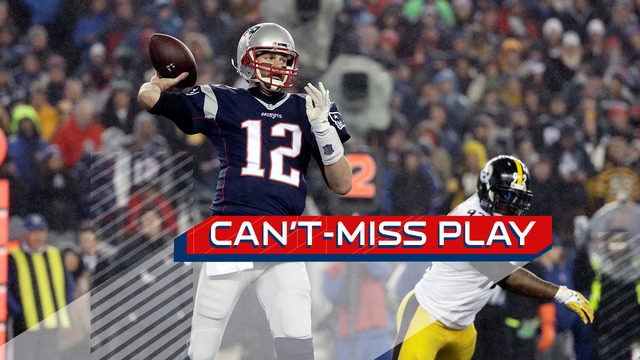 Can't-Miss Play: Tom Brady links up with Chris Hogan on textbook flea flicker TD