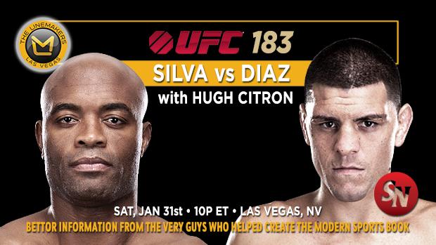 UFC 183 Silva Vs Diaz
