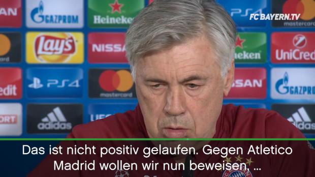 """Ancelotti: """"Wollen hohes Level beweisen"""""""