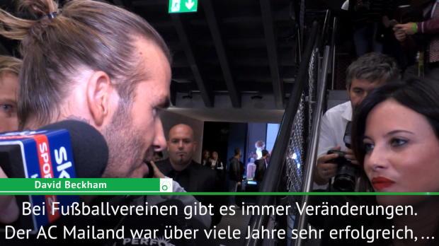 "Beckham über Milan: ""Fans wollen Leidenschaft"""